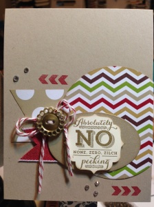 No Peeking Card 004