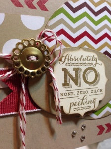 No Peeking Card 005