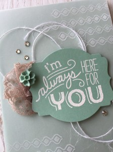 Cathy Casey, Independent Stampin' Up Demonstrator www.sugarshackdes... Friendly Wishes Stampin' Up