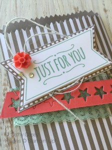 Cathy Casey, Independent Stampin' Up Demonstrator www.sugarshackdes... You're So Sweet Stampin' Up