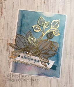 Cathy Casey, Independent Stampin' Up Demonstrator www.sugarshackdes... Remarkable You Stampin' Up