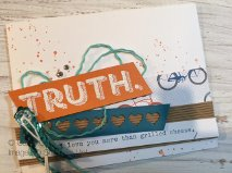 Cathy Casey, Independent Stampin' Up Demonstrator www.sugarshackdes... Words of Truth Stampin' Up