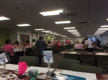 Lot's of pink and busy stampers :)