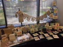 Part of my display at our event.