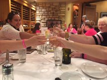 A toast to our success!