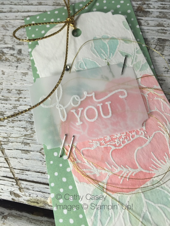 Stampin' Up Holiday Occasions - Birthday Blooms