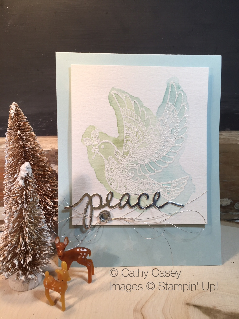Dove of Peace Stampin' Up