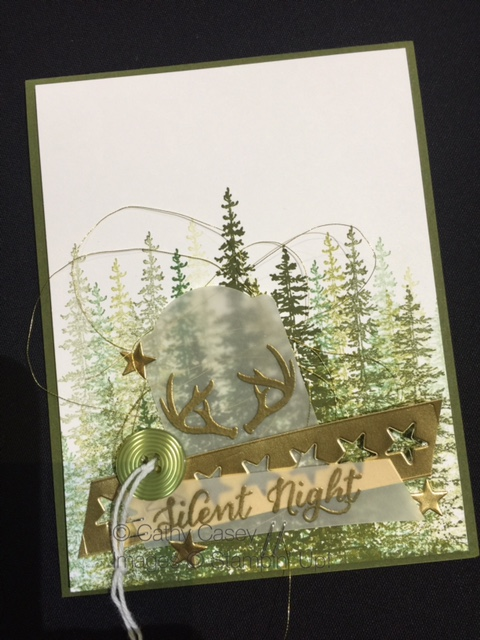 On Stage 2015, Wonderland stamp set, Stampin' Up!