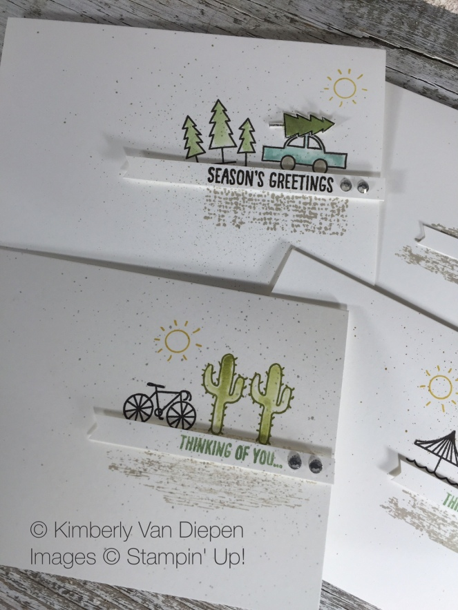 Greetings From Stampin' Up