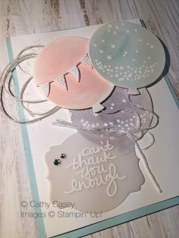 Lovely Amazing You Stampin' Up