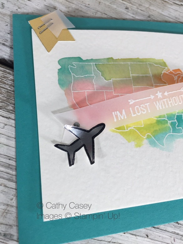 Map it Out Stampin' Up