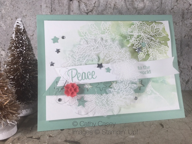 Peaceful Wreath Stampin' Up