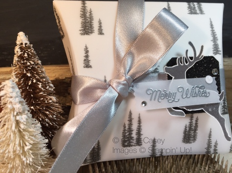 Jolly Christmas Pillow Box