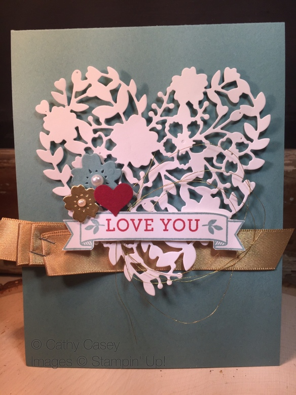 Bloomin' Love Stampin' Up