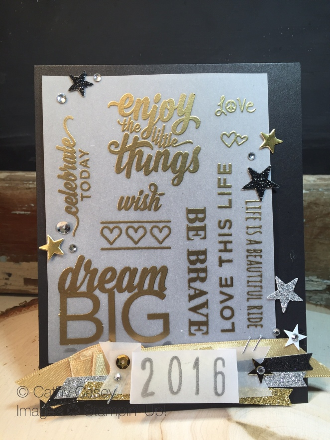 Enjoy the Little Things Stampin' Up