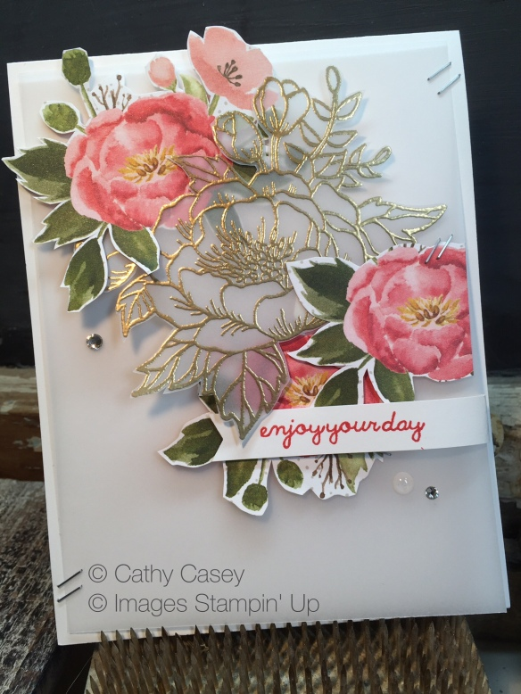Birthday Blooms Stampin' Up