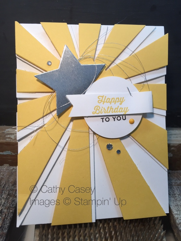 Sunburst Sayings Stampin' Up