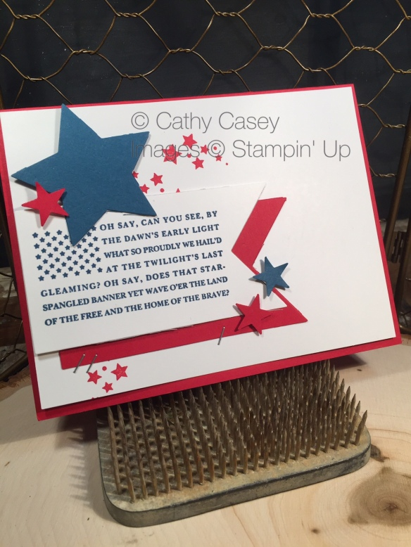 Cards for the Troops Stampin' Up