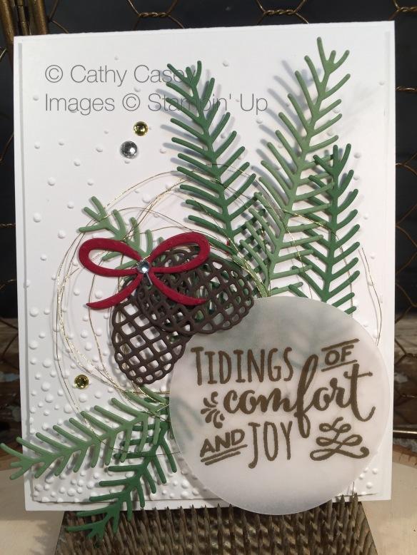 Christmas Pines Stampin' Up