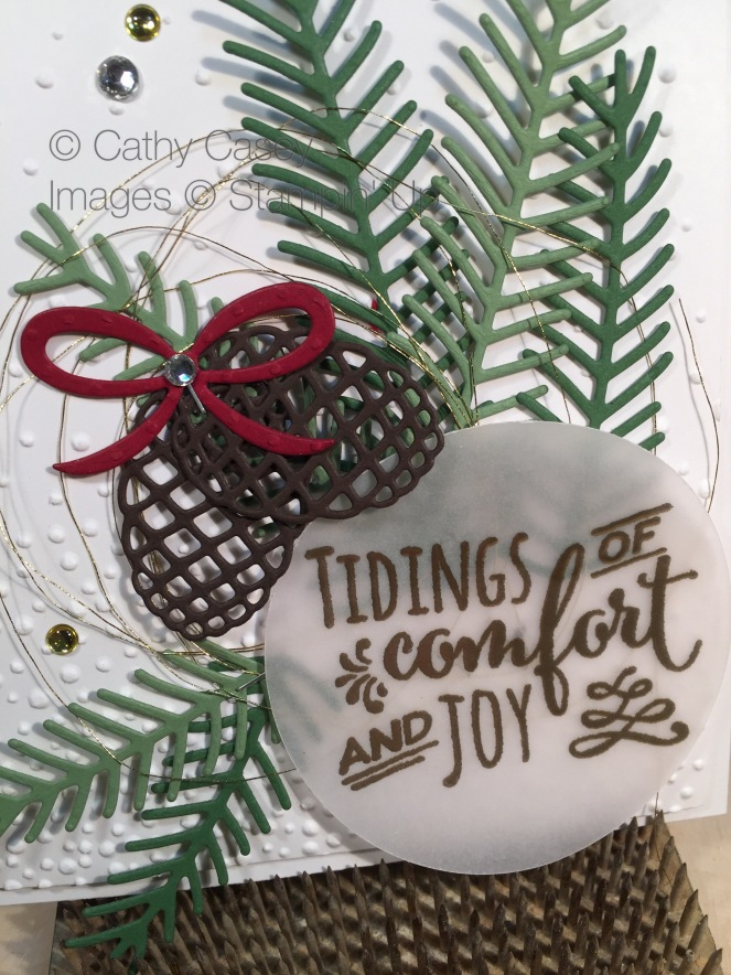 Christmas Pines Stampin' Up