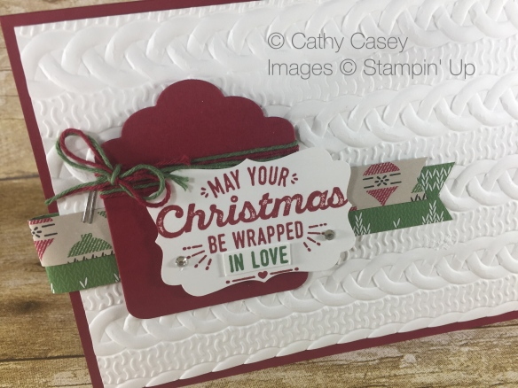 Stampin' Up Wrapped in Warmth