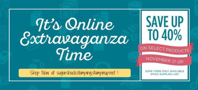 Online Extravaganza 2016