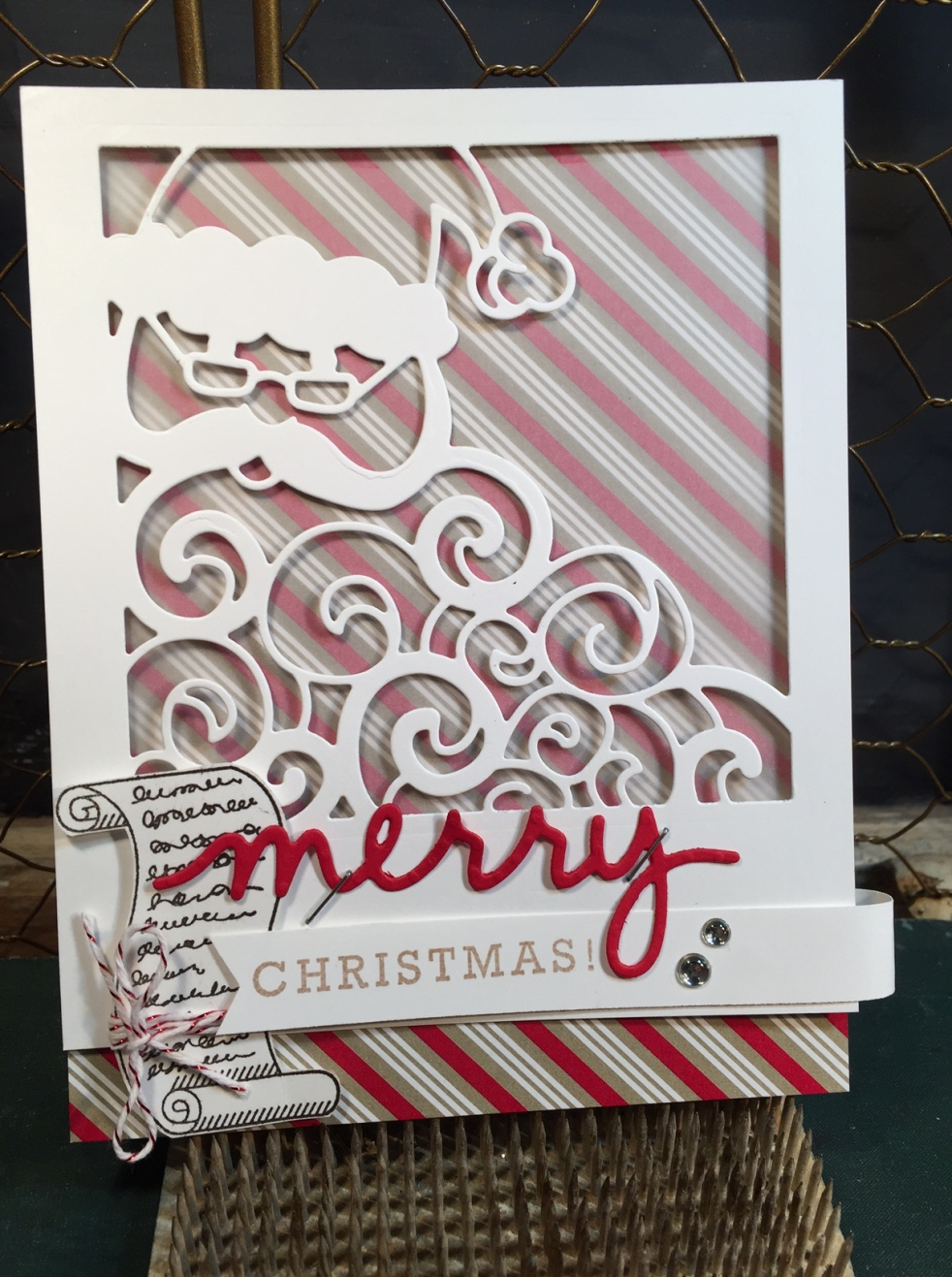 Greetings from Santa Stampin' Up