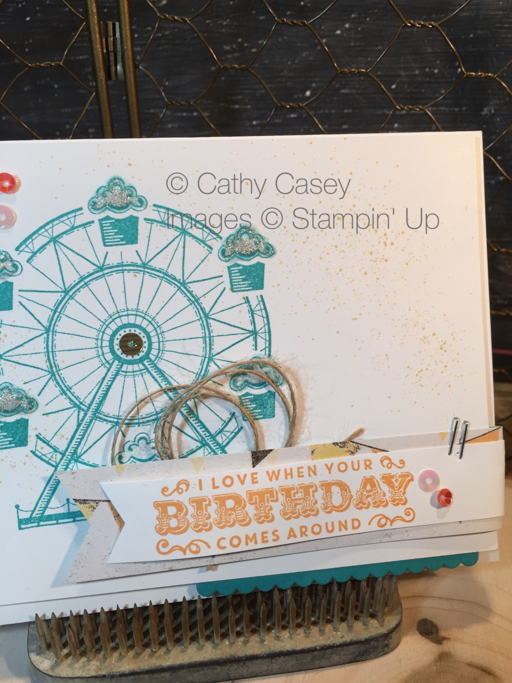 Carousel Birthday Stampin' Up