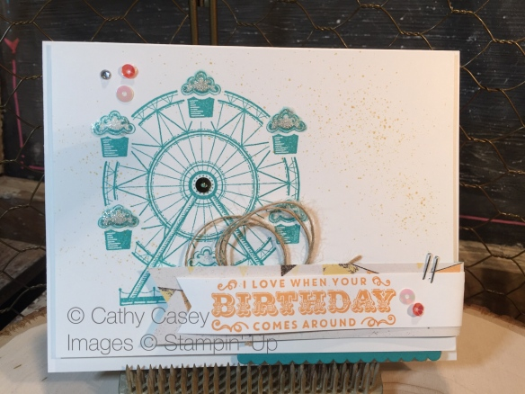 Carousel Birthday Stampin' Up