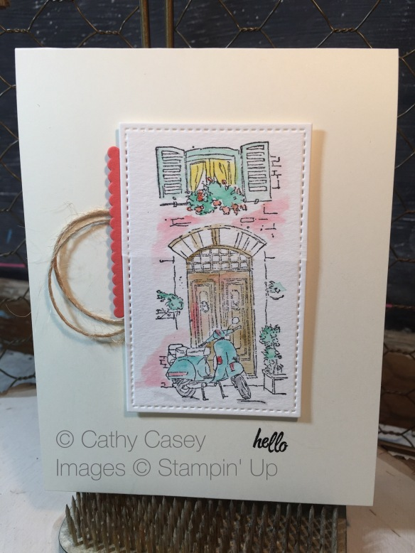 Mediterranean Moments Stampin' Up