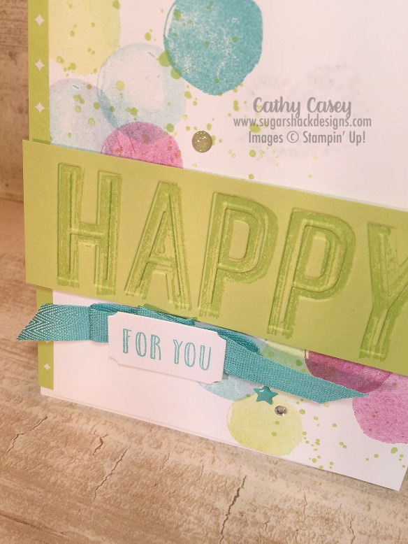 Happy Celebrations Stampin' Up