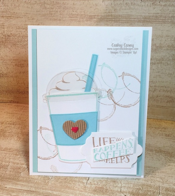 Coffee Cafe Stampin' Up