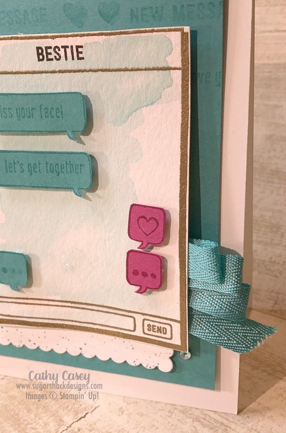 Text Ya Later Stampin' Up
