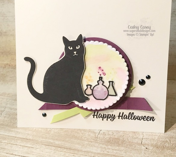 Spooky Cat Stampin' Up