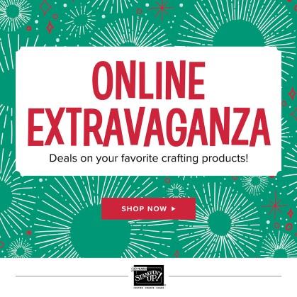 Online Extravaganza 2017 Stampin' Up