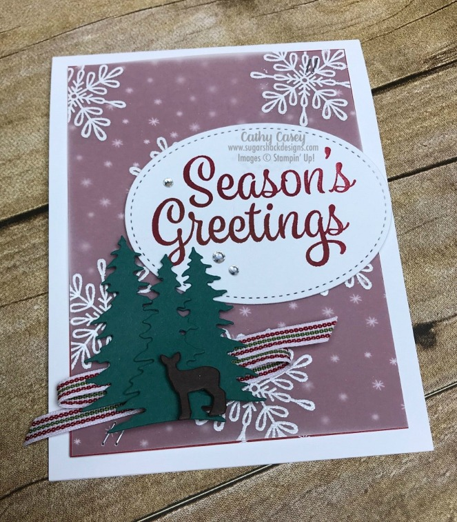 Snowflake Sentiments Stampin' Up