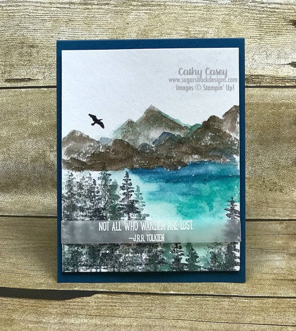 Waterfront Stampin' Up