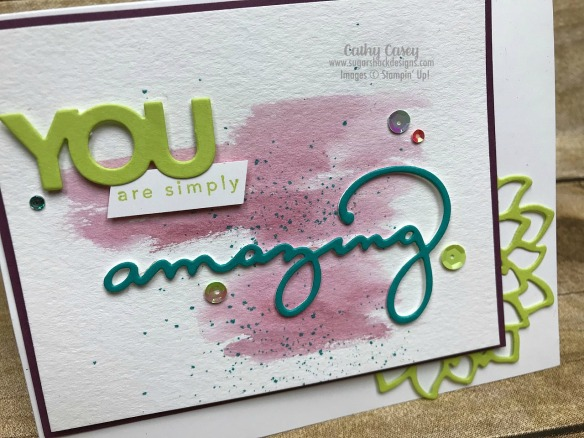 Amazing You Stampin' Up