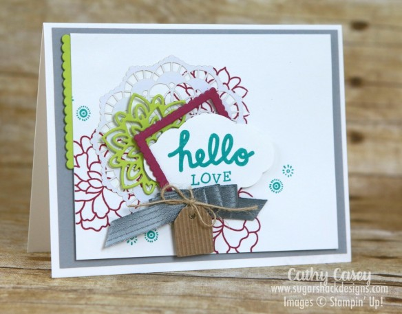 You Deserve This Stampin' Up