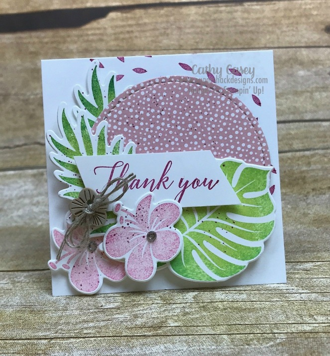 Tropical Chic Stampin' Up