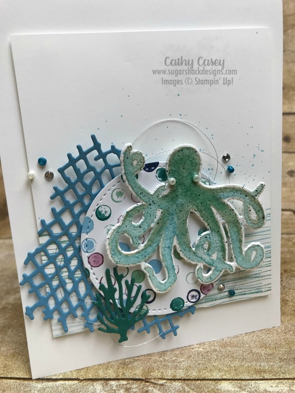 Sea of Textures Stampin' Up