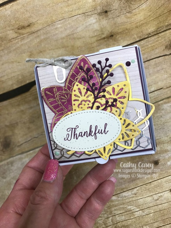 Falling for Leaves Stampin' Up