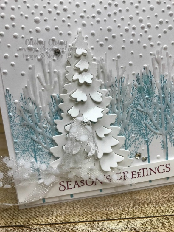 Winter Woods Stampin' Up
