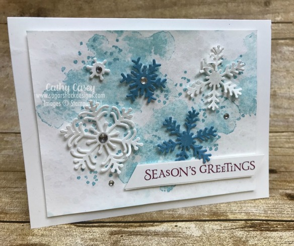 Beautiful Blizzard Stampin' Up
