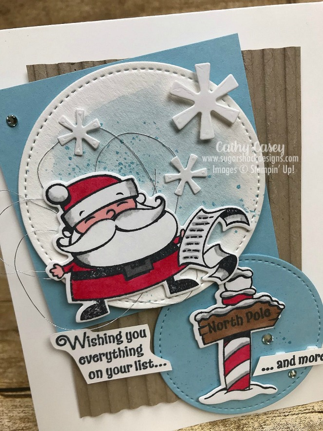 Signs of Santa Stampin' Up