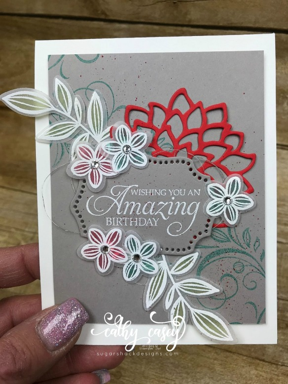 Falling Flowers Stampin' Up