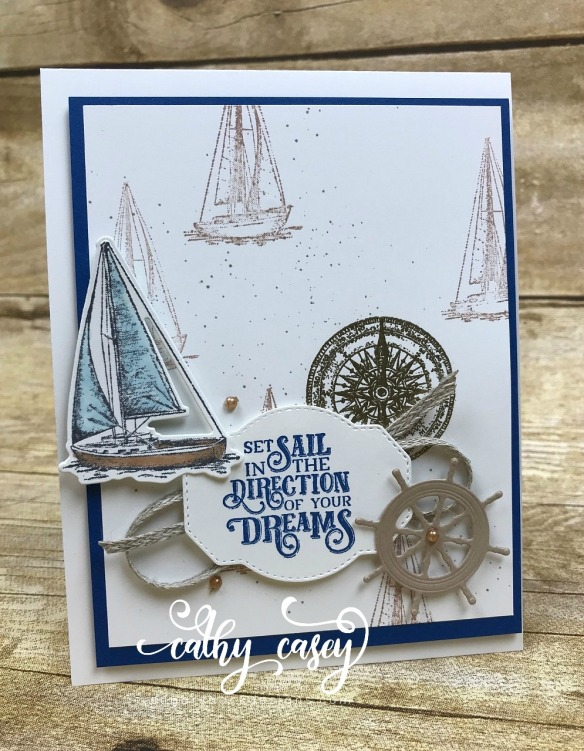 Sailing Home Stampin' Up