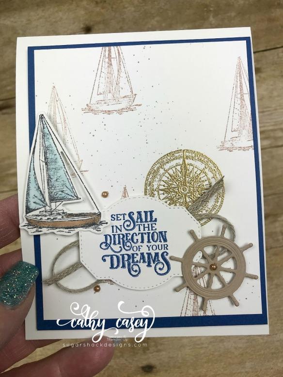 Sailing Home Stampin' Up