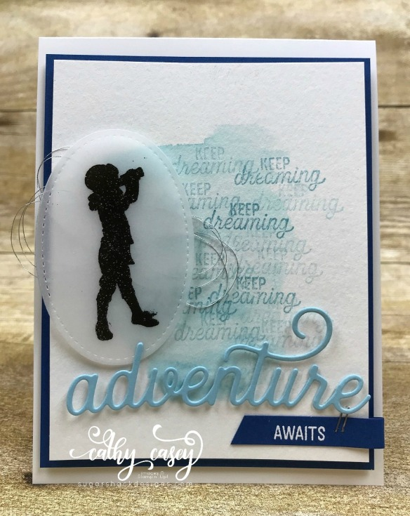 Silhouette Scenes Stampin' Up