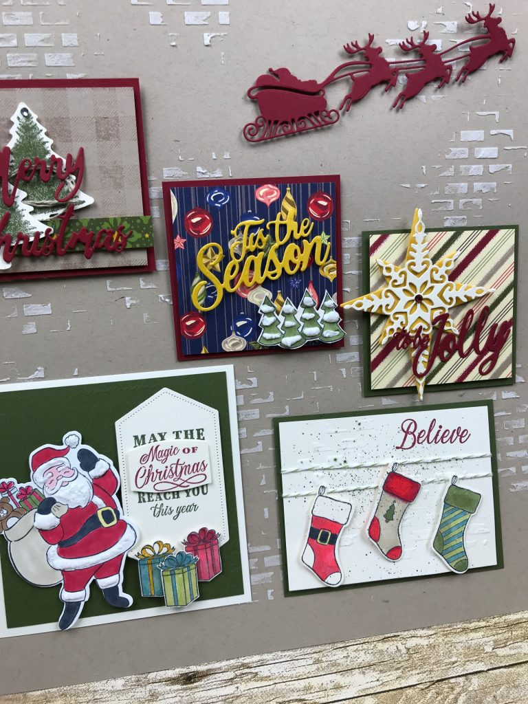 Holly Jolly Christmas Stampin' Up